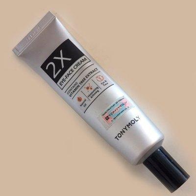 Крем для лица и кожи вокруг глаз Tony Moly 2X Eye-Face Cream (30 мл)