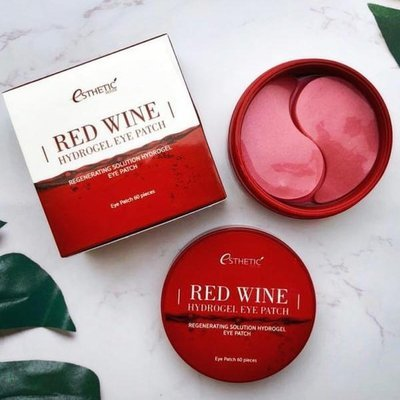 Гидрогелевые патчи с экстрактом красного вина Esthetic House Red Wine Hydrogel Eye Patch (60 шт)