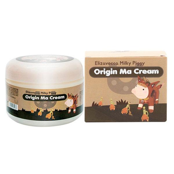Питательный крем для сухой кожи лица с лошадиным маслом Elizavecca Milky Piggy Origin Ma Cream (100 мл)