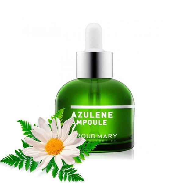 Ампульная сыворотка с азуленом для проблемной кожи Proud Mary Azulene Ampoule (50 мл)