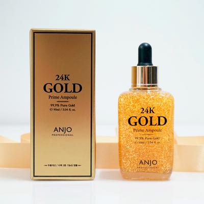 Сыворотка для лица Anjo Professional 24k Gold Prime Ampoule 99,9% (90 мл)