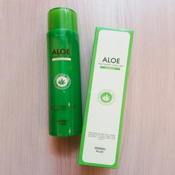 Тоник Aloe The Health Care Skin Moisture Giinsu Plus (150 мл)
