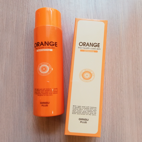 Тоник Orange The Health Care Skin Whitening Giinsu Plus (150 мл)