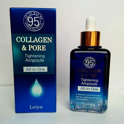 Сыворотка Leiya Collagen & Pore Tightening Ampoule All-in-one (100 мл)