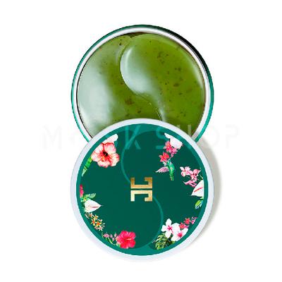 Гидрогелевые патчи с лепестками зелёного чая Jayjun Green Tea Eye Gel Patch (60 шт)