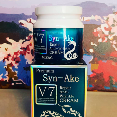 Антивозрастной крем для лица Premium V7 Syn-Ake Repair Anti-Wrinkle Cream (80 мл)