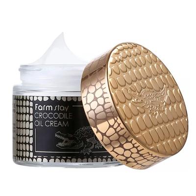 Крем для лица с жиром крокодила FarmStay Crocodile Oil Cream (70 мл)