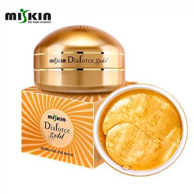 Гиалуроновые патчи с коллоидным золотом Miskin Diaforce Gold Hydrogel Eye Patch (60 шт)