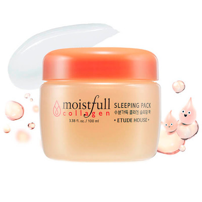 Ночная маска Etude House Moistfull Collagen Sleeping Pack (100 мл)