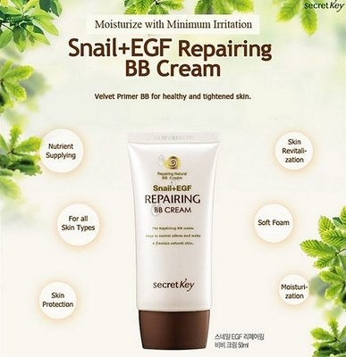 Secret Key Snail + EGF Repairing Natural BB Cream
