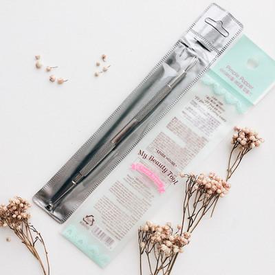 Косметологическая двусторонняя ложечка для механической чистки лица Etude House My Beauty Tool Extractor
