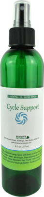 Cycle Support Essential Oil Blend Spray - 8 fl oz (227 ml)