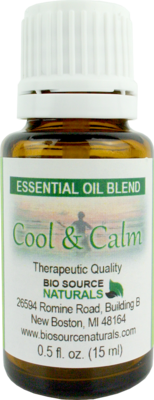 Cool & Calm Essential Oil Blend