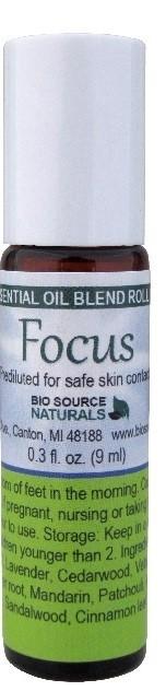 Focus Essential Oil Blend - 0.3 fl oz (9 ml) Roll On