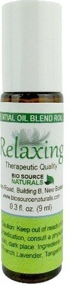 Relaxing Essential Oil Blend  - 0.3 fl oz (9 ml) Roll On