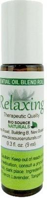Relaxing Essential Oil Blend  - 0.3 fl oz (9 ml) Roll On
