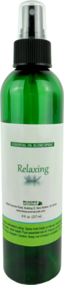 Relaxing Essential Oil Blend  Spray - 8 fl oz (227 ml)