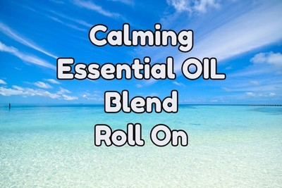 Calming Essential Oil Blend - 0.3 fl oz (9 ml) Roll On