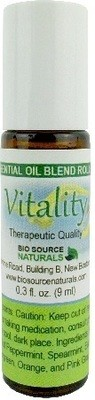 Vitality Essential Oil Blend - 0.3 fl oz (9 ml) Roll On