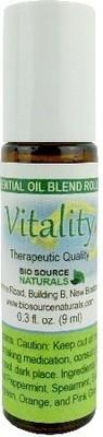 Vitality Essential Oil Blend - 0.3 fl oz (9 ml) Roll On