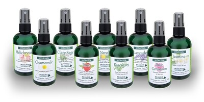 Hydrosol or Floral Waters Set of 9
