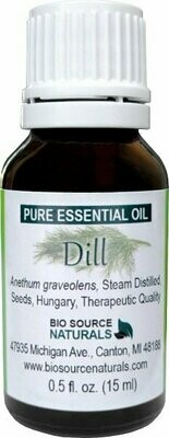 Dill Pure Essential Oil