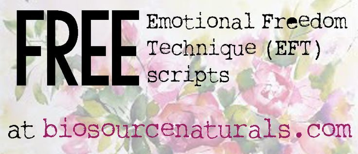 FREE EFT (Emotional Freedom Technique) Tapping Scripts for Focus  - EOTT™
