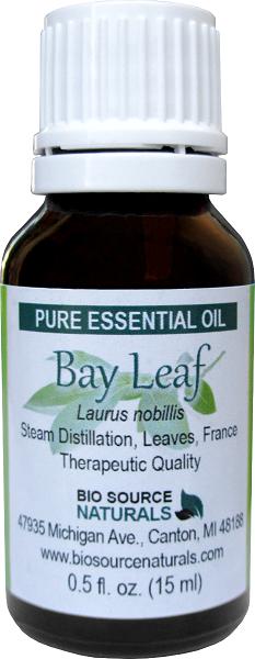 Bay Leaf (Sweet) Pure Essential Oil 00082