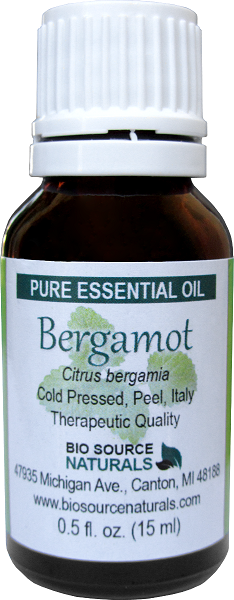 Bergamot (Bergaptene Free) Pure Essential Oil 00342