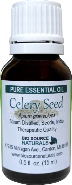 Celery Seed Pure Essential Oil with Analysis Report 00113