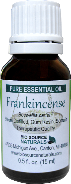 Frankincense - Pure Essential Oil - (Boswellia carterii) with Analysis Report 00166
