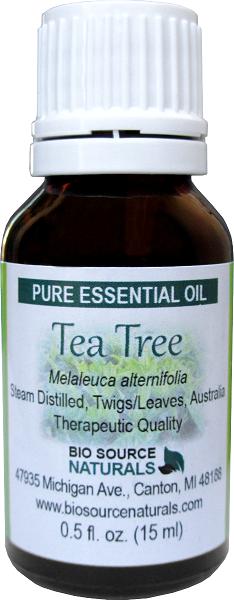 Tea Tree Pure Essential Oil - 0.5 fl oz (15 ml) OILTEATREEB