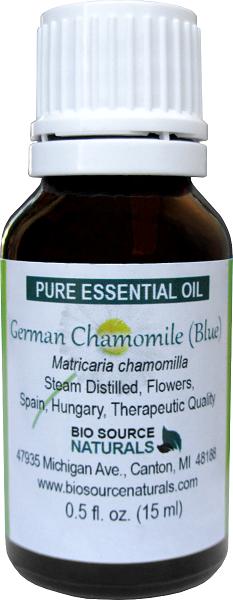 German Chamomile Pure Essential Oil (Blue) 00174