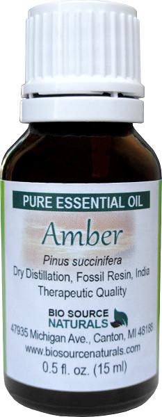 Amber Resin Oil 00057
