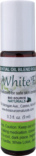 Soft, White Floral Essential Oil Blend Roll On - 0.3 fl oz (9 ml) SOFWHIROLL