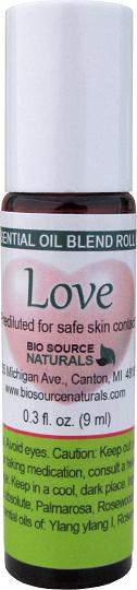 Love Essential Oil Blend - 0.3 fl oz (9 ml) Roll On LOVEROLL