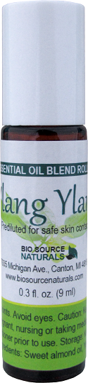 Ylang Ylang I Pure Essential Oil - 0.3 fl oz (9 ml) Roll On OILYLANGR