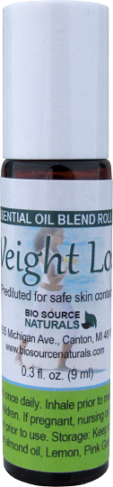 Weight Loss Essential Oil Blend - 0.3 fl oz (9 ml) Roll On