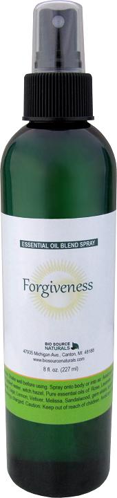 Forgiveness Essential Oil Blend - 8 fl oz (227 ml) Spray FORGIVESPRAY