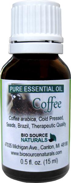 Coffee (Coffea arabica) Pure Essential Oil