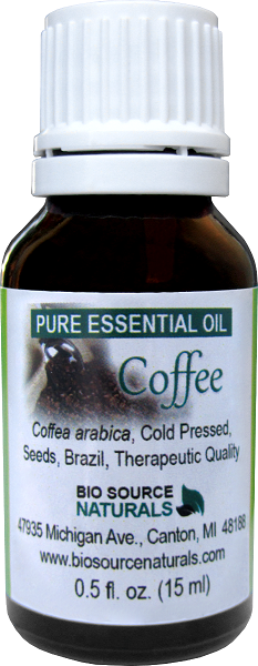 Coffee (Coffea arabica) Pure Essential Oil 00129