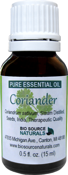 Coriander Seed Pure Essential Oil with Analysis Report