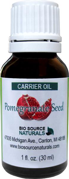 Pomegranate Seed Carrier Oil - 1 fl oz (30 ml) POMECARE1oz