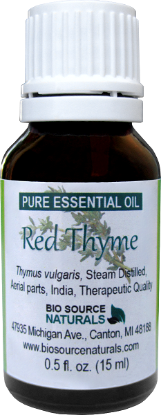 Red Thyme Pure Essential Oil CT Thymol 00272