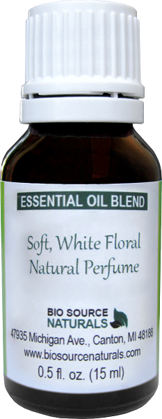 Soft, White Floral Essential Oil Blend - 2.0 fl oz (60 ml) NATWHITE60ML