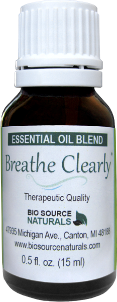 Breathe Clearly Essential Oil Blend - 0.5 fl oz (15 ml) BLENDBREATHEB