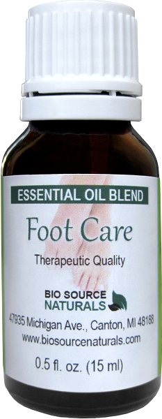 Foot Care Essential Oil Blend 2.0 fl oz (60 ml) FOOT60