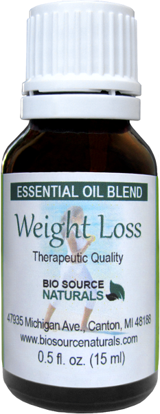 Weight Loss Essential Oil Blend - 4.0 oz (120 ml) WEIGHTLOSS120