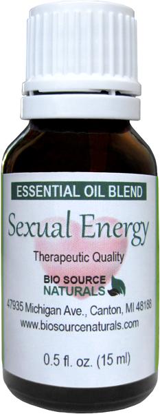 Sexual Energy Essential Oil Blend - 2.0 fl oz (60 ml) SEXEN60