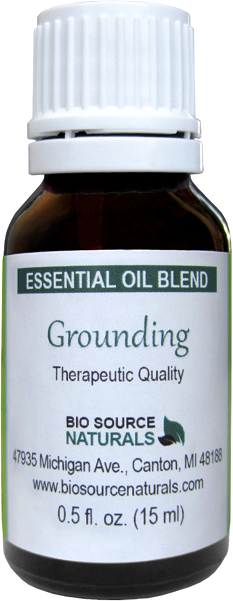 Grounding Essential Oil Blend - 2.0 fl oz (60 ml) ESSBLEGRO60ML
